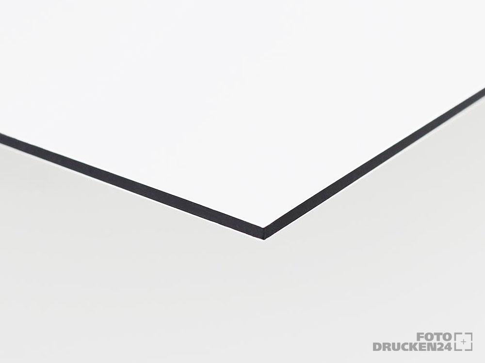 Aluverbundplatte, weiß