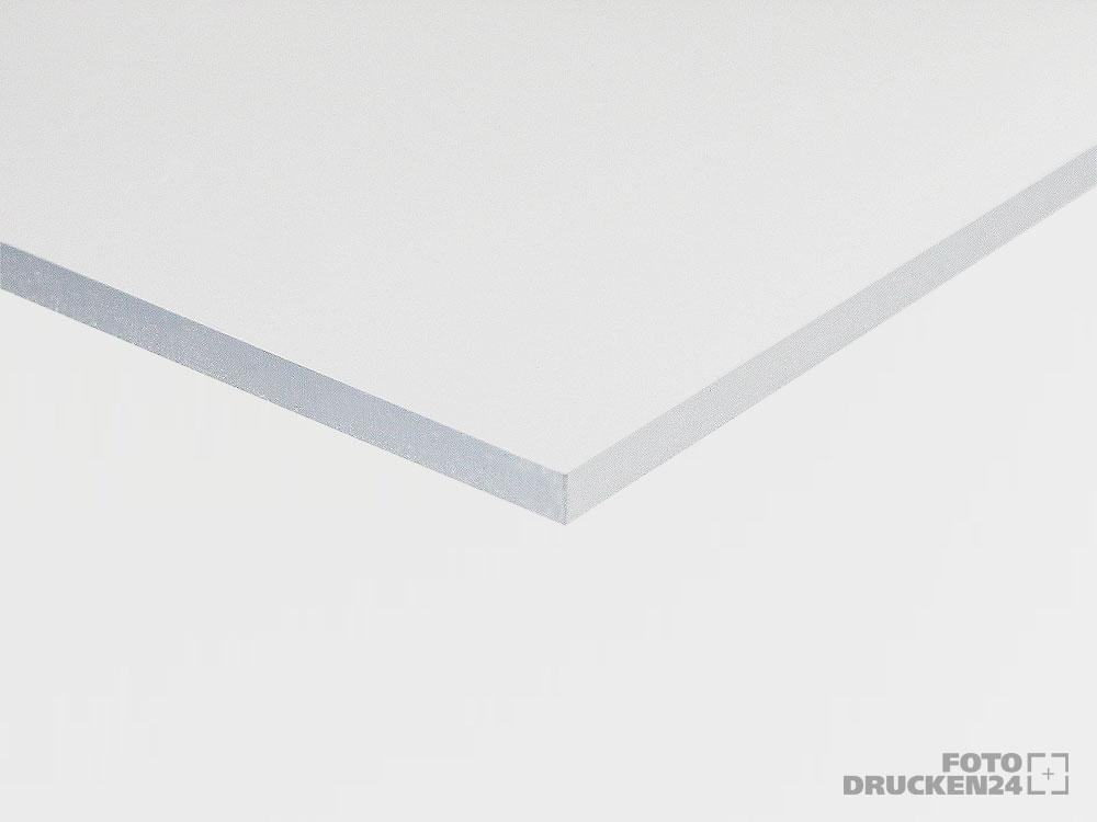 Acrylglasplatte Detailansicht