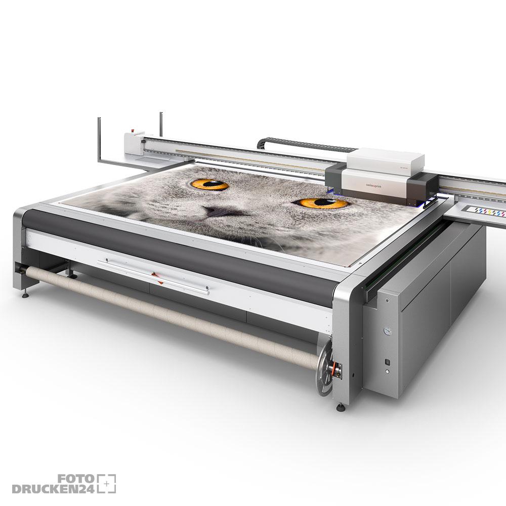 Digitaldruck auf Alu Dibond, Detailansicht