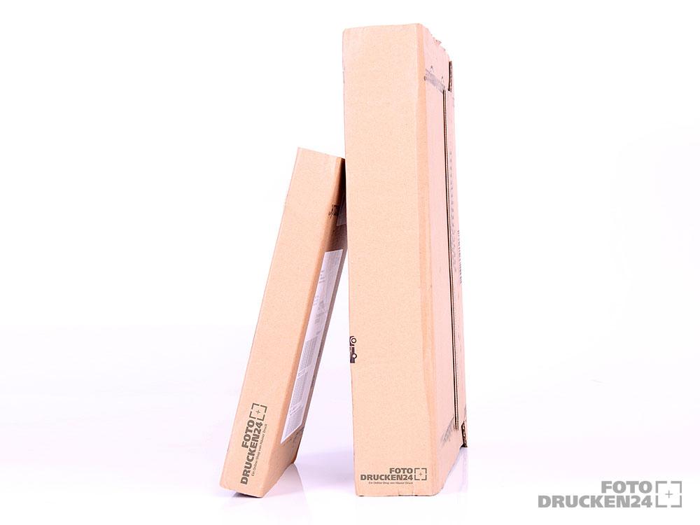 Pakete mit Aluverbundplatten
