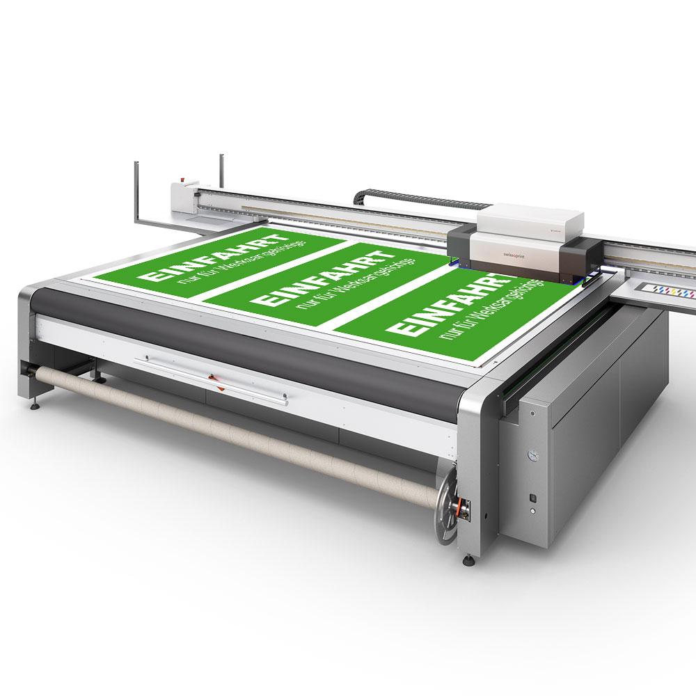 Druckmaschine bedruckt Forex Hartschaum